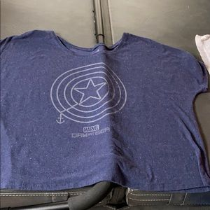 Disney cruise line's marvel shirt